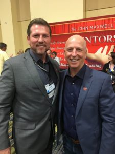 John With Roddy Galbraith At The 2018 John Maxwell Certification